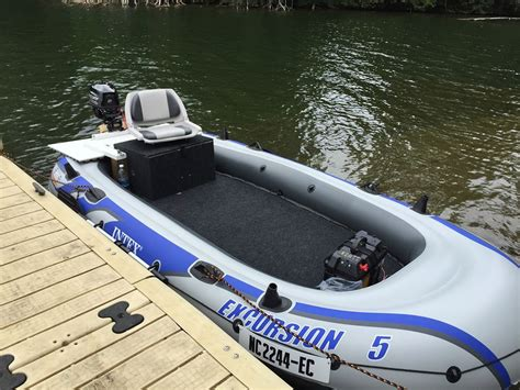 intex excursion 5 ultimate modification the hull boating and fishing forum