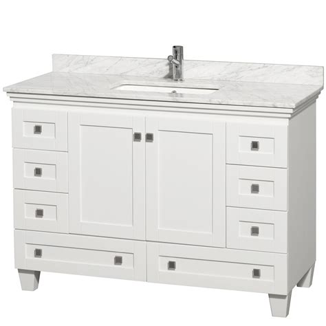 acclaim white bathroom vanity top decobizz