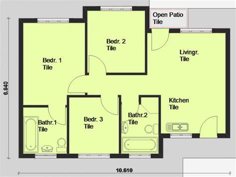 Free Printable House Blueprints Free House Plans South