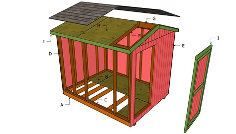 complete 8x10 shed plans 8 by 16 storage issa