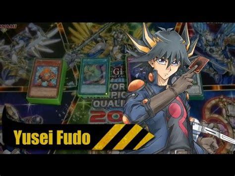 ygo pro yusei fudo deck vs yuma tsukumo deck stardust