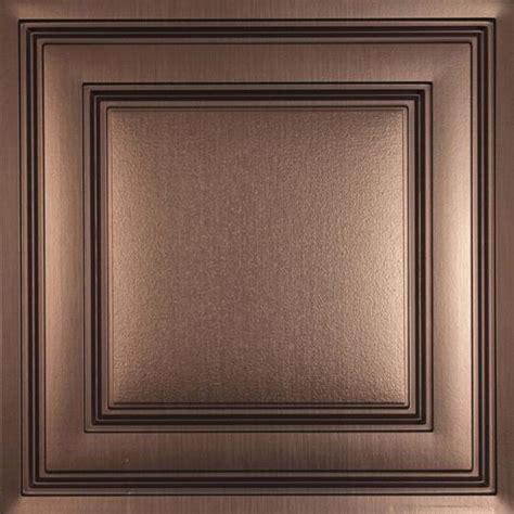 stratford bronze ceiling tiles