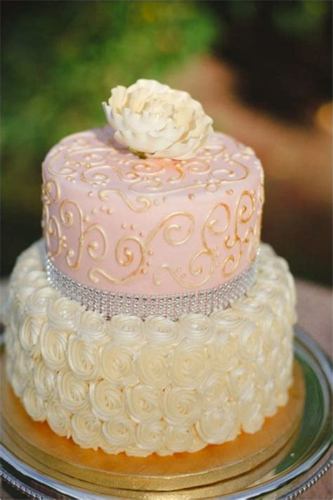 pink and gold cake 18 pastel wedding cake ideas for 2016