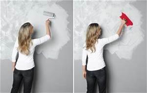 Effekt Farbe Streichen : wandgestaltung in betonoptik sch ner wohnen ~ Markanthonyermac.com Haus und Dekorationen