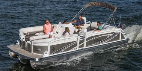 Tritoon Boat Rough Water by Jc Tritoon Marine Pontoon Boats