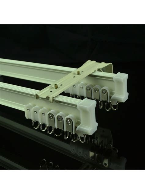 chr8422 bendable curtain tracks ceiling mount wall mount for bay window cheery curtains