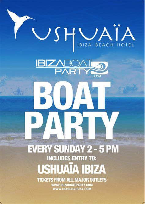 Boat Party Ushuaia by Introducing Ushua 239 A Boat Parties Ibiza Spotlight