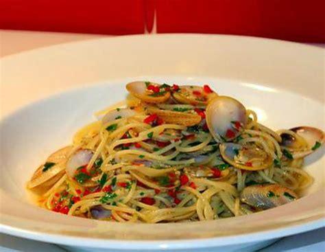 recette de spaghetti alle vongole aux palourdes