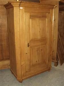 Kleiderschrank 1 Türig : 4282 schrank kleiderschrank 1 t rig weichholz garderobenschrank biedermeier ebay ~ Markanthonyermac.com Haus und Dekorationen