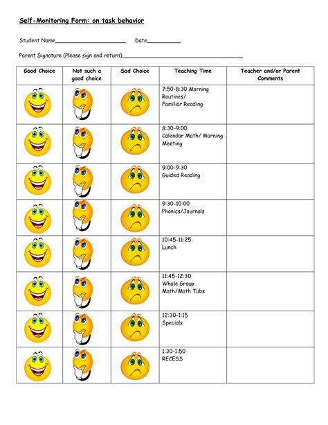 Free Behavior Worksheets  Google Search  Negativeoppositional Behaviors Pinterest