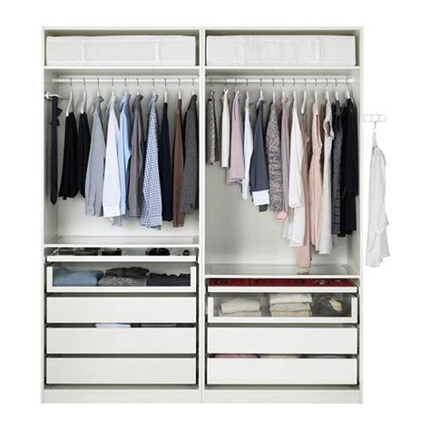 pax armoire penderie blanc auli miroir mirror glass the floor and suits