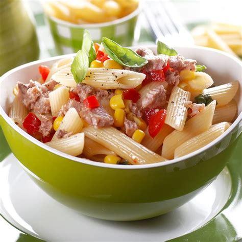 recette salade de p 226 tes au thon tomate et ma 239 s facile rapide