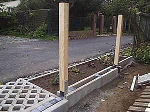 Betonpfosten Für Zaun : zaun auf beton befestigen mischungsverh ltnis zement ~ Markanthonyermac.com Haus und Dekorationen