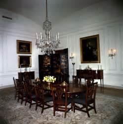 White House Rooms Family Dining Room  John F Kennedy