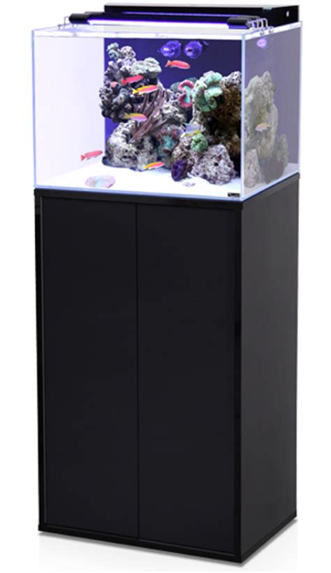 aquarium aquatlantis aqua marin 120 l tout 233 quip 233 avec meuble coloris noir ou blanc aquariums