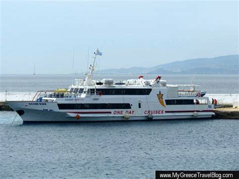 Excursion Catamaran Paros by Delos Island Ferry Prices Times Unchanged For 2013 My