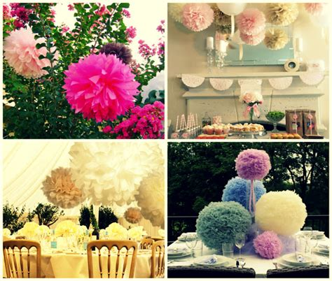diy pom pom wedding decorations 171 the wedding accessory superstore