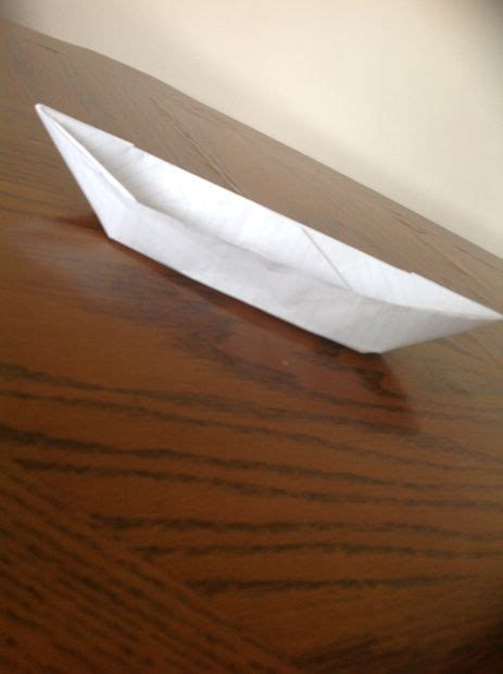 Origami Super Boat by How To Do A Super Easy Origami Boat