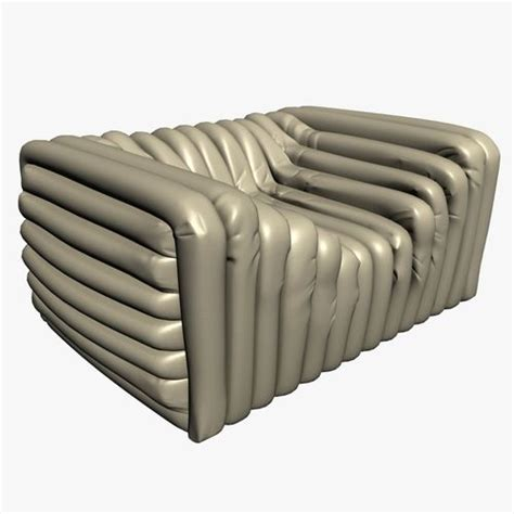 3d Versace Bubble Sofa Cgtrader