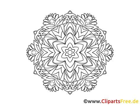 Muster Blume Mandala Malvorlage Zum Ausmalen