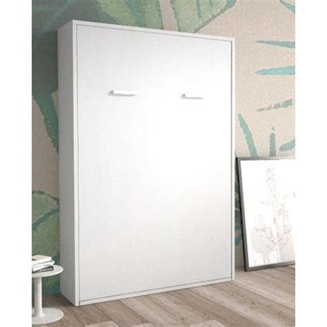 Armoire Lit Escamotable Verticale 2 Places 140 X 200