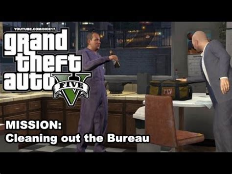 gta 5 gameplay walkthrough mission 50 cleaning out the bureau
