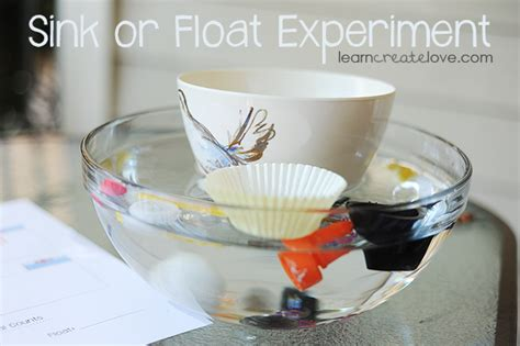 pin sink float on