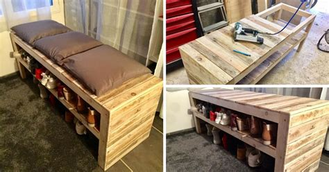 fabriquer un meuble a chaussures facile maison design bahbe