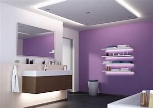 Spots Für Badezimmer : led beleuchtung im bad wellness im badezimmer mit led strips paulmann licht ~ Markanthonyermac.com Haus und Dekorationen