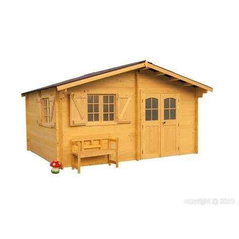 abri de jardin en bois 5x4m 233 paisseur 42mm achat vente abri jardin chalet abri de jardin