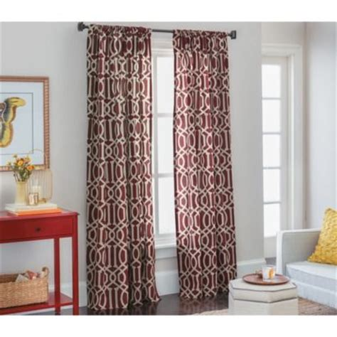 living room curtains target threshold farrah lattice window panel den curtains 19