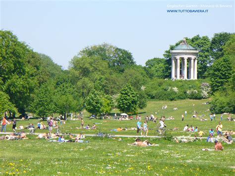 Englischer Garten, Il Giardino Inglese Di Monaco Di Baviera
