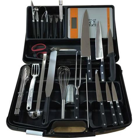 mallette couteaux et ustensiles cuisine eurolam