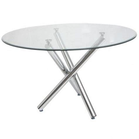 table ronde en verre dining room metals and tables