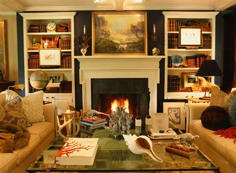 built in bookshelves traditional living room jean randazzo