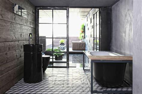 salle de bain esprit loft