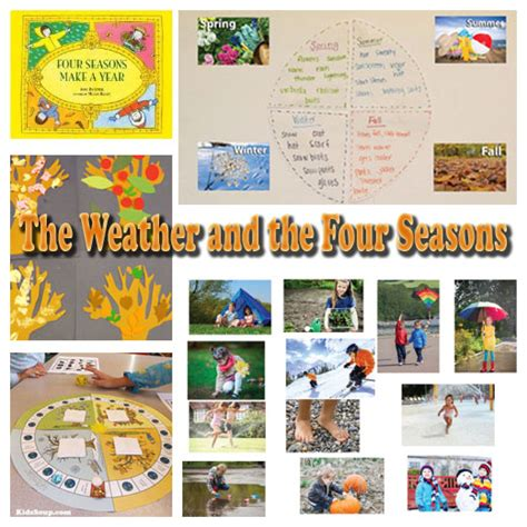 Weather Watch Activities And Games Kidssoup