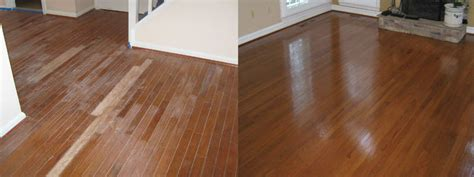 hardwood floor refinishing before after gallery buff