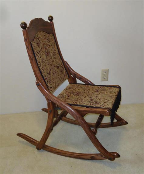 Csmart Folding Rocking Chair by Civil War Folding Rocking Chair Rocking Chairs Civil