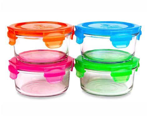 pots de conservation repas bb en verre weangreen