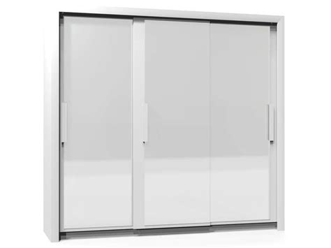 Armoire 3 Portes L229 Cm Perfect Coloris Blanc Conforama