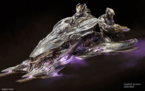 Skiff Vs Hulk by Image Chitauri Concept Art Jpg Marvel Cinematic
