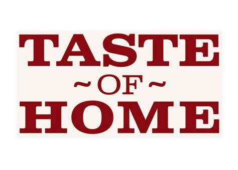 Taste Of Home : A Taste Of Home (wellington)