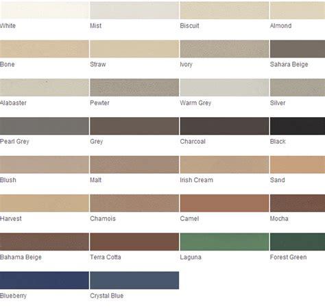 grout color chart images