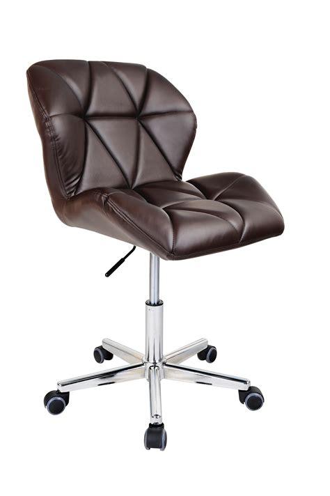 modern uranus padded swivel pu leather computer desk office chair ebay