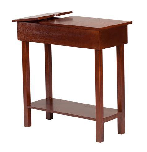 chairside table with usb power by oakridgetm ebay