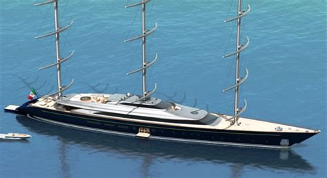 Yacht Boat Music by The New Improved Yacht Maltese Falcon The Perini Navi