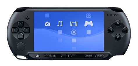 Playstation Portable E-1000 Console (charcoal Black) + 4