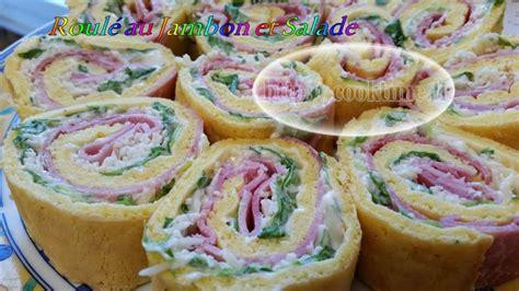 roul 233 au jambon et salade p 226 te au thermomix cook