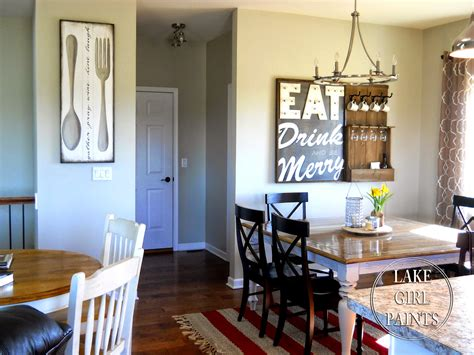 Making Dining Room Wall Art
